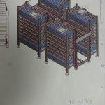 Buffertoren Probo in aanbouw